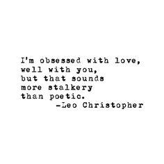 Leo Christopher • :))