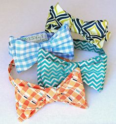 Freshly Completed: Of Bow ties and Suspenders