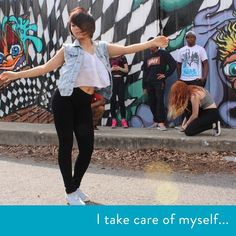 """""""I express my anxieties and troubles through dance. It's a really good outlet for stress."""" #dance #healthy #exercise #selfcare #stressrelief #anxiety #expression"""