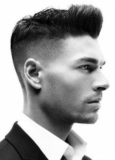 Shaved Sides Men's Haircut ✖️More Pins Like This At FOSTERGINGER @ Pinterest✖️