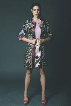 Ankara print fabric jacket