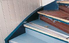Holztreppe renovieren: Die Stufen entknarren