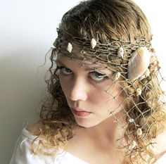 mermaid hair accessories... not this just inspiration