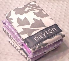 Hey, I found this really awesome Etsy listing at https://www.etsy.com/listing/98278057/personalized-burp-cloth-set-baby-girl