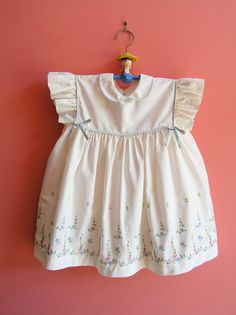 Lovely Vintage Baby Embroidered Spring Summer by sweetlilystudio, $17.00