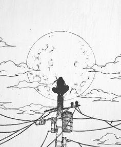 Ideas for blue bird tattoo guys Otaku Anime, Anime Naruto, Naruto Art, Manga Anime, Anime Guys, Naruto Drawings, Anime Drawings Sketches, Anime Sketch, Manga Drawing