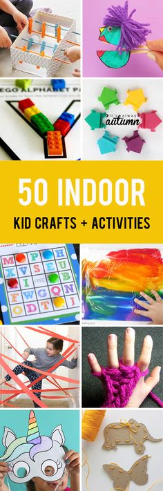 50 easy crafts and a