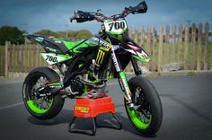 Aprilia SXV450 VDB Monster Energy
