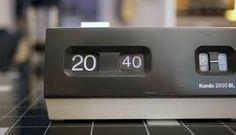 Rare Kundo / 2000BL / rollzahlen Braun Rollnumber clock fllip clock flipping vintage made in 70s Klappzahlen Uhr –We collect similar ones – Only/Once – www.onlyonceshop.com