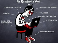 geek by versesane, via Flickr