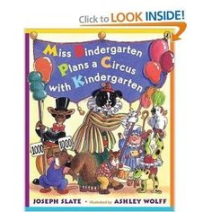 "Read ""Miss Bindergarten Plans a Circus With Kindergarten"" by Joseph Slate available from Rakuten Kobo. Miss Bindergarten is planning a circus and all of her kindergarteners are in on the fun! Everyone is busy preparing: pai. Circus Activities, Preschool Themes, Preschool Science, Circus Theme Classroom, Classroom Ideas, Orson Scott Card, Kindergarten Books, Kindergarten Graduation, Carnival Themes"