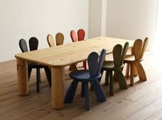 Ecological Furniture for Kids Bedroom by Hiromatsu