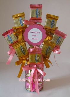 Mother's Day sweet bouquet gift idea