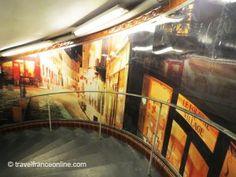 Abesses Metro Station in Montmartre #Paris