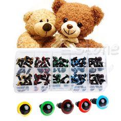 Barato 100 Pcs 8mm 5 Cores De Segurança De Plástico máquina de Lavar Os Olhos Para Urso De Pelúcia Boneca de Brinquedo Fantoche, Compro Qualidade Bonecas Acessórios diretamente de fornecedores da China: 100 Pcs 8mm 5 Cores De Segurança De Plástico máquina de Lavar Os Olhos Para Urso De Pelúcia Boneca de Brinquedo Fantoche