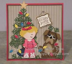 Christmas at Our House by jactop - Cards and Paper Crafts at Splitcoaststampers