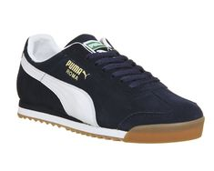 Puma Roma Navy White Gum - His trainers