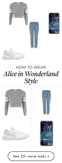 """""""Sin título #1815"""" by maneirojosemith on Polyvore featuring Topshop and NIKE"""