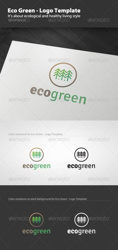Eco Green - Logo Template