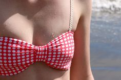 How to make a Bow Shaped Bikini Top - Free Sewing Pattern and Tutorial