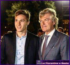 Giancarlo Antognoni e Federico Chiesa