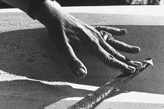 size: Premium Photographic Print: Hands of Sculptor Barbara Hepworth, in Her Studio by Paul Schutzer : Subjects Walt Whitman, Man Ray, Louise Nevelson, Figure Of Speech, Barbara Hepworth, St Ives, Environmental Art, Studio S, Life Magazine