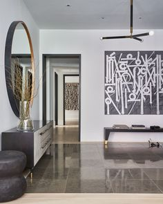 A grand entryway in