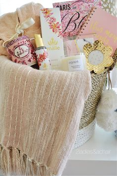 A Fabulous Mother's Day Gift Basket Idea