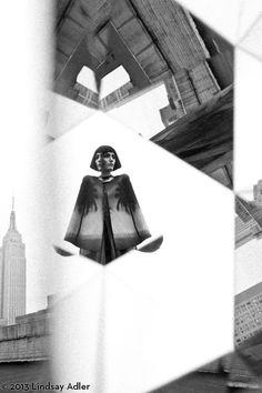 Prismatic Fashion Editorial Zink Magazine by Lindsay Adler