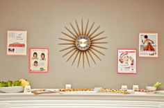 Mad Men party decor!   www.everybodysinvited.in