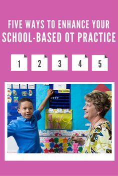 Five Tips to Enhance Your School-Based Occupational Therapy Practice