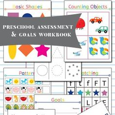 [vc_row][vc_column][vc_column_text]One of my very first posts on this blog was my Preschool Assessment and Goals Workbook - way back in 2013. I cannot believe it was that long ago. I created the workbook before Ireally knew my adobe suite products. My skills have come a long way over the past ...
