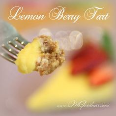 This is such a refreshing spring or summer tart! Full of flavor with a zing of lemon and added locally grown fresh berries. When I was a little girl, for my birthday, I would usually be asked what. Berry Tart, Happy Spring, Real Food Recipes, Benefit, I Am Awesome, Berries, Vanilla, Paleo, Strawberry