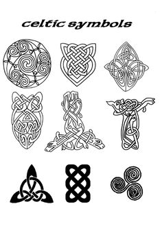 celtic symbols of love | Celtic Symbol Image naming: celtic symbols.