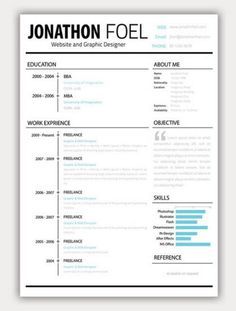 CV templates 12 Amazing Collection Of Free CV/Resume Templates