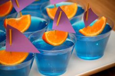 Jello shot boats