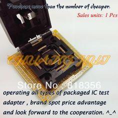 83.00$  Buy here - http://alilfj.worldwells.pw/go.php?t=884680751 - FPQ-64-0.5-06 IC Socket FPQ64/TQFP64/QFP64 Test Socket Pitch:0.5mm Size:10x10/12x12mm 83.00$