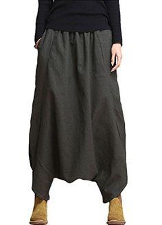 Minibee Women's Personalized Low Drop Crotch Harem Pants ... http://www.amazon.com/dp/B01EORUQKS/ref=cm_sw_r_pi_dp_8Fyhxb0S46FPC