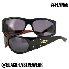 #flyno5 sunglass classic black flys style