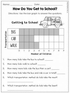 data and graphing worksheets for first grade - common core Picture Graph Worksheets, Graphing Worksheets, 1st Grade Math Worksheets, Graphing Activities, Printable Math Worksheets, Free Printable, Graphing First Grade, Second Grade Math, Grade 1