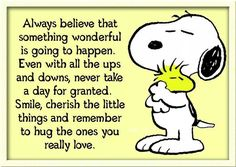 Good advice from Snoopy!