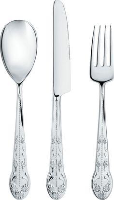 Alessi Asta Barocca Cutlery - 24 Piece Set for 6 Persons | www.richmondcookshop.co.uk