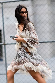 The Best Street Style at New York Fashion Week SS17 - September 2017