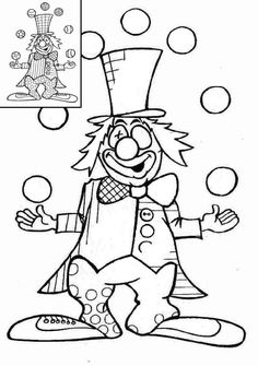Graphisme en maternelle : Clown et graphies de base Circus Art, Circus Theme, Clowns, Puzzle Photo, Le Clown, Circus Performers, Window Art, Cellphone Wallpaper, Mardi Gras