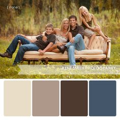 Portrait Palettes {stone} #Photography #clothing #colors #portraits #kentsmithphotography