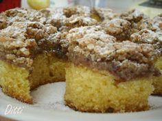 Ditti módra: Olga, avagy diós-holdas süti Poppy Cake, Hungarian Recipes, Apple Cake, Fondant, Sweets, Healthy Recipes, Cookies, Hungary, Kitchen