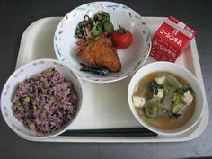 給食の写真