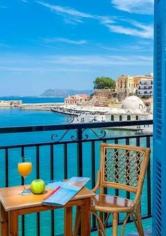 View on Chania old Town, Crete, Greece