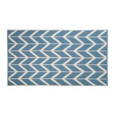 Probleme mit blau-gestreifter Bettwäsche?, Wandfarbe dann wie Teppich in deutlich hellerer Nuance