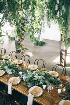 Greenery Wedding inspiration | Table Settings | Wedding Reception | Wedding Decor | Wedding Ideas | TheStyleCo-Yue-Tao-Stones-Of-The-Yarra-61